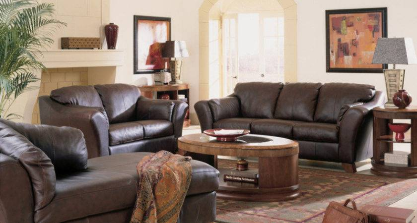 Ideas Small Living Room Brown Furniture