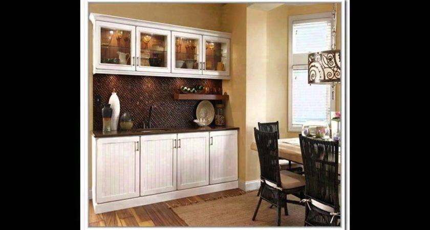 Ikea Cabinets Dining Room Dark Buffet Hutch