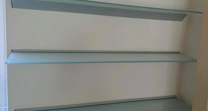 Ikea Ljusdal Glass Shelves Beeston Nottinghamshire