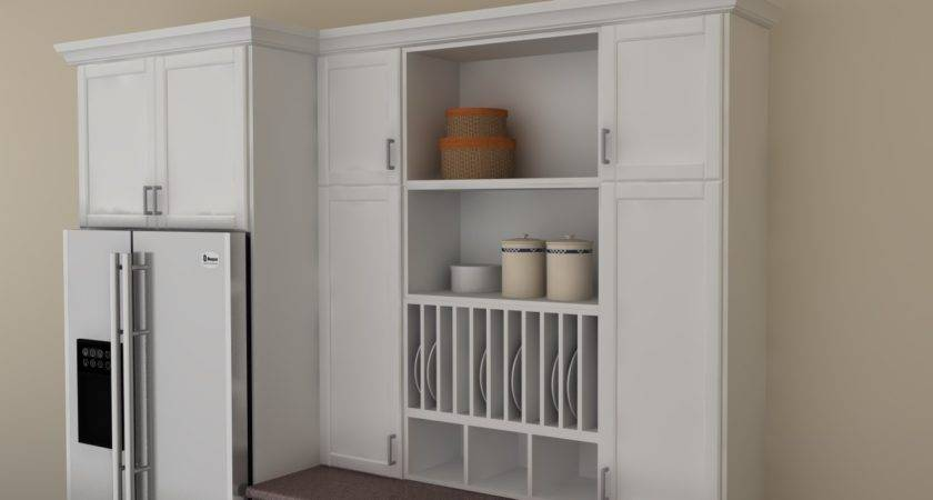 Ikea Pantry Cabinet Ideas Absorbing Kitchen