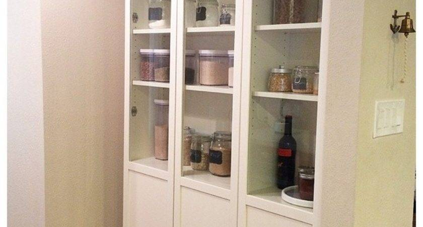 Ikea Pantry Hack Kitchen Using Billy Bookcase