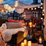 Ikea Small Balcony Ideas Autumn Home Design Interior