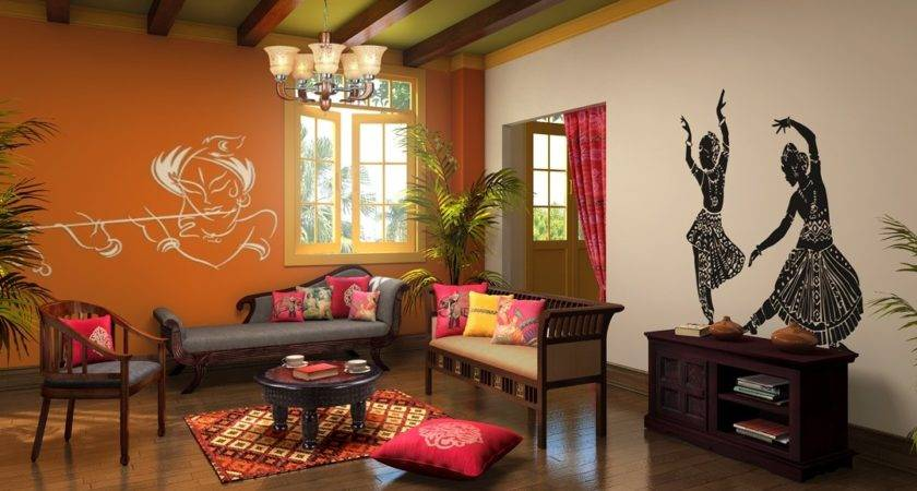 Indian Ethnic Living Room Designs Jewel