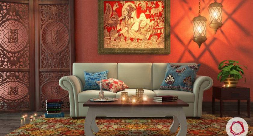 Indian Traditional Living Room Interior Design Best