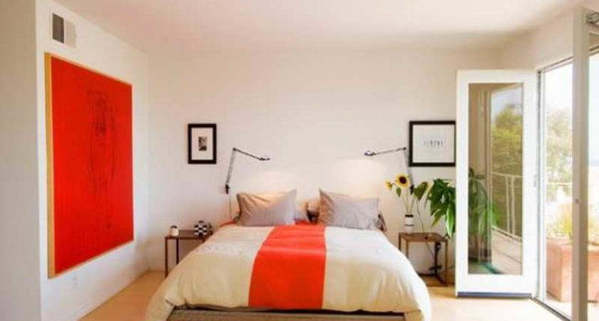 Indoor Decorating Orange Paint Ideas Soothing