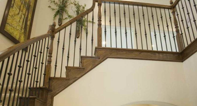 Indoor Gothic Iron Stair Railings Luxurious