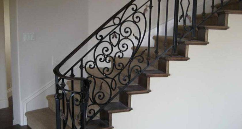 Indoor Iron Fences Stair Railings Luxurious