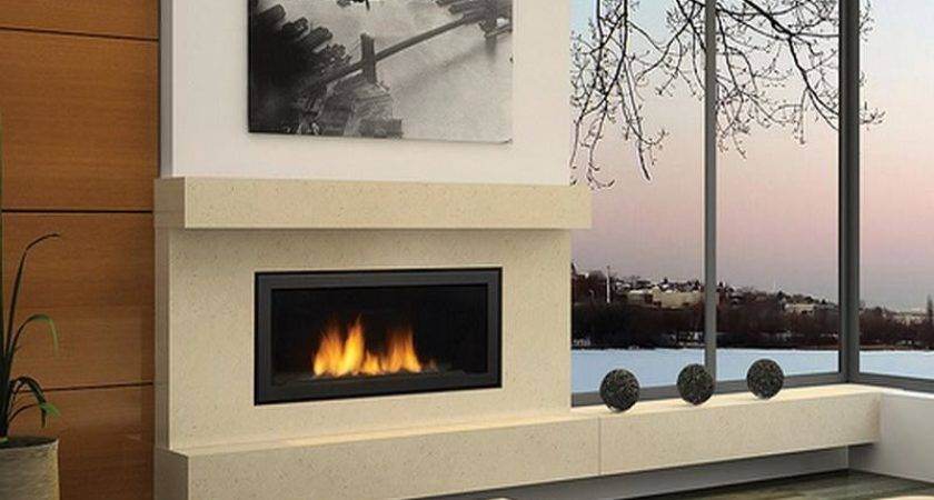 Indoor Small Gas Fireplaces Modern