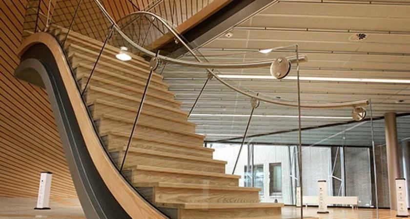 Indoor Southern Staircase Unique Design