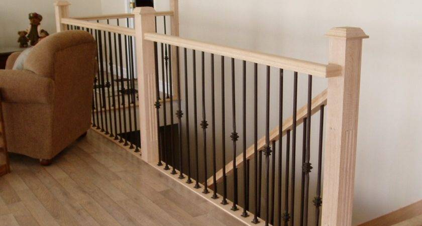 Indoor Wood Stair Railing Designs Interior Design Best
