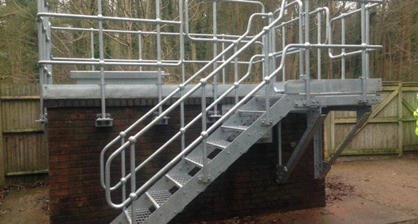 Industrial Access Stairs Steelway