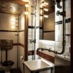 Industrial Bathroom Design Viskas Apie Interjer