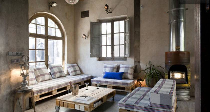 Industrial Chic Apartment Inviting Appeal Decoholic