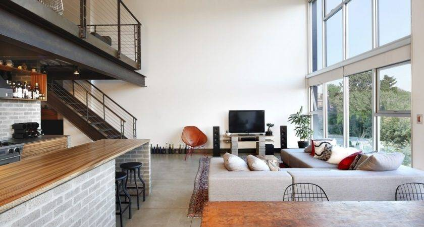 Industrial Loft Seattle Functionally Blending Materials
