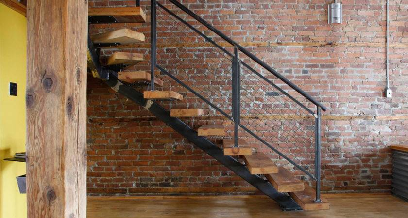 Industrial Staircase Design Accord Style Interior