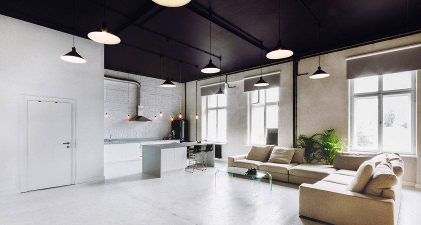 Industrial Style Apartment Meeting Room Futura Home