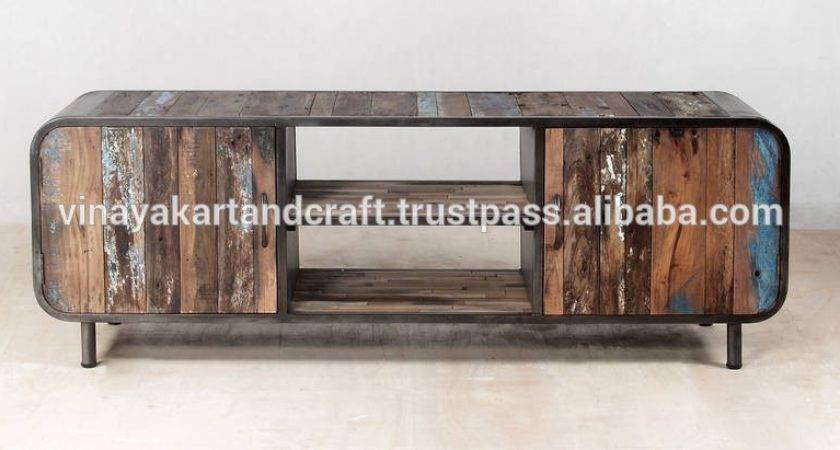 Industrial Style Wooden Stand Vintage Buy