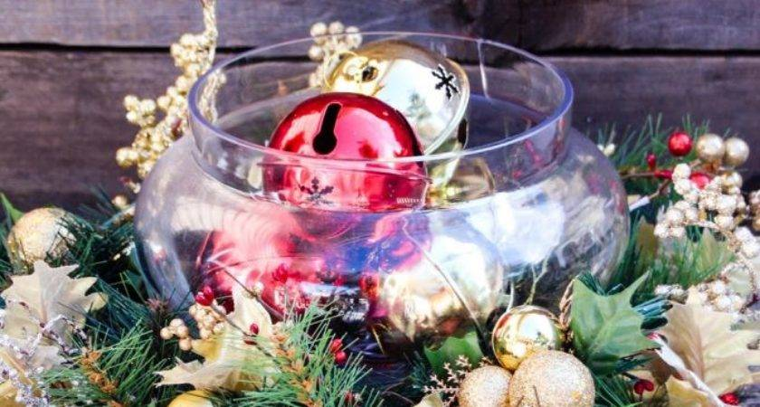 Inexpensive Cheap Christmas Centerpiece Ideas