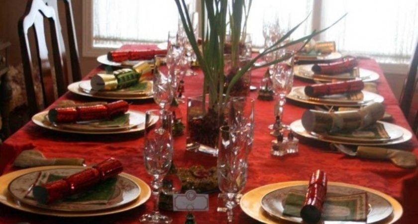 Inexpensive Christmas Dining Table Centerpiece Ideas Sets