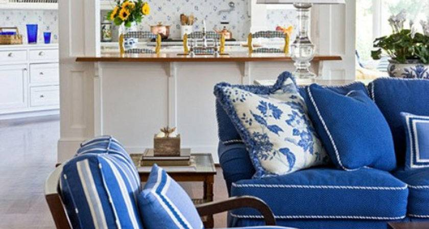 Inspiration Horizon Coastal Blue White Decor