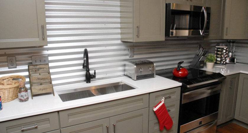 Inspired Whims Creative Inexpensive Backsplash Ideas