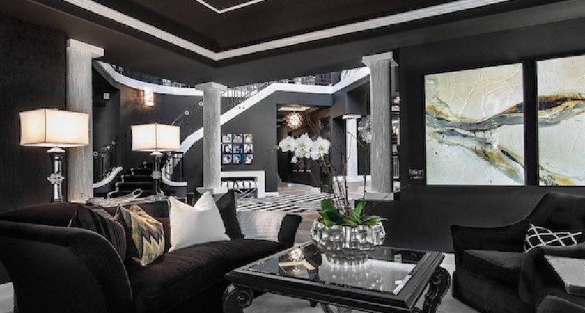 Inspiring Black White Living Room Designs