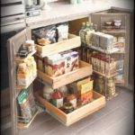 Inspiring Small Kitchen Storage Ideas Wall Organizer