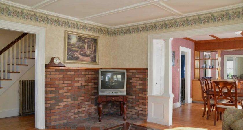 Interior Decoration Living Room Brick Wall Sopo Cottage