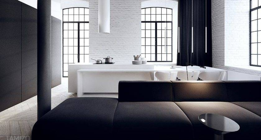 Interior Design Black White