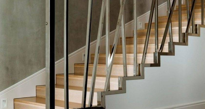 Interior Design Idea Modern Railing Designs Stair