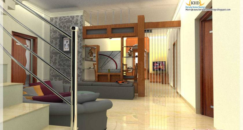 Interior Design Idea Renderings Kerala Home