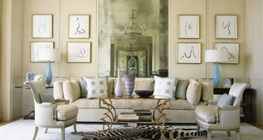 Interior Designs Modern French Living Room Design Ideas