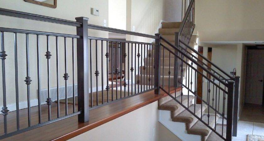 Interior Iron Railing Traditional Staircase Other