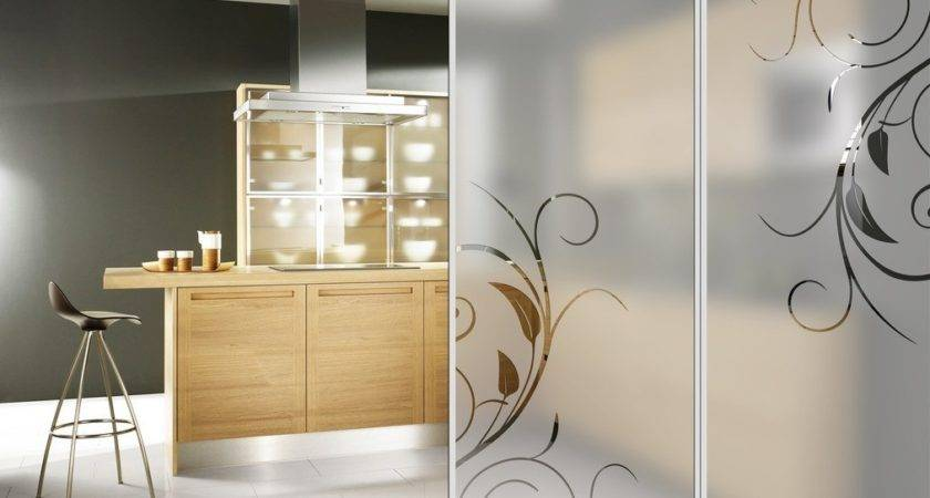 Interior Kitchen Glass Doors Type Rbservis