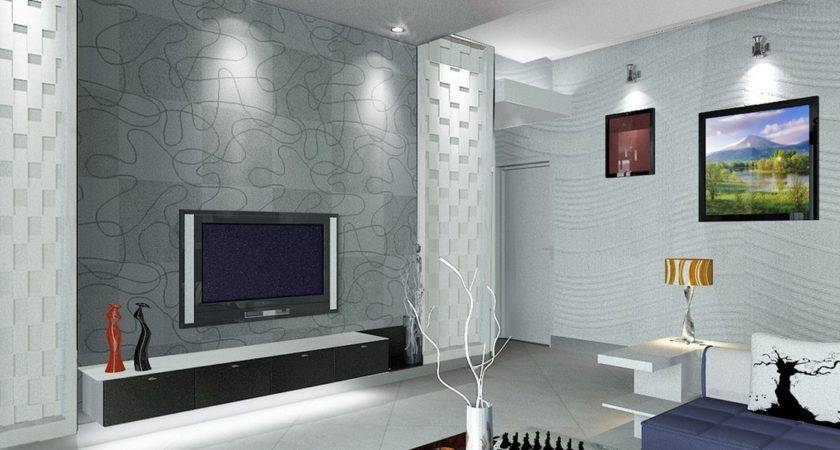 Interior Living Room Design Wall House