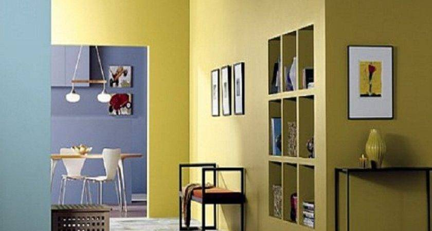 Interior Wall Paint Colors Yellow House