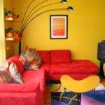 Interior Yellow Living Room Decorating Ideas