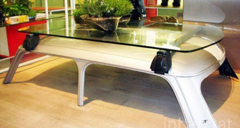Inventive Examples Furniture Made Car Parts