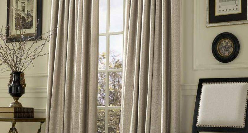 Inverted Pleat Drapes Smarten Your Window