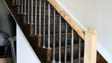 Iron Pipe Stair Railings Rustic Rails