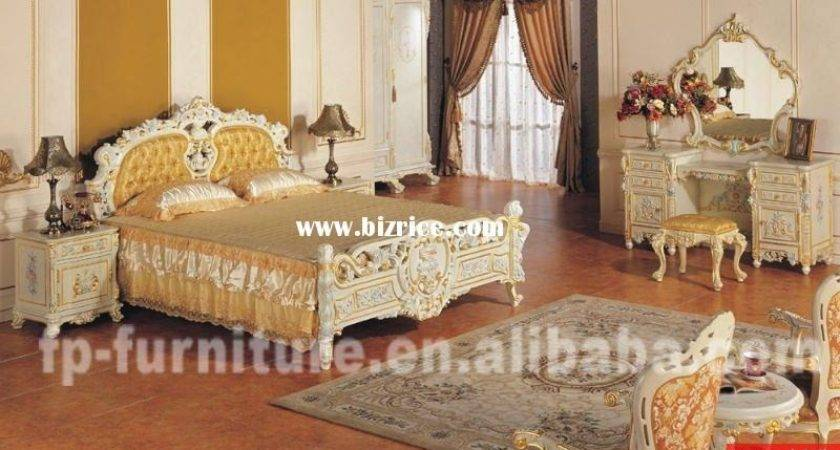 Italian French Antique Furniture Bedroom Set China