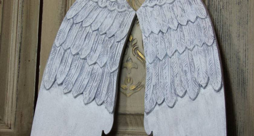 Items Similar Angel Wing Decor Wood Wings