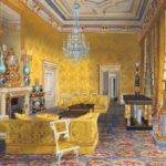 James Roberts Buckingham Palace Yellow Drawing Room