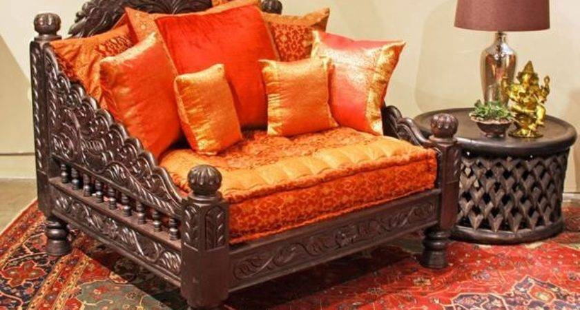 Jhula Single Seat Indian Hand Carved Furniture Chair