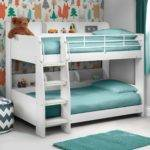 Julian Bowen Domino White Wooden Kids Bunk Bed