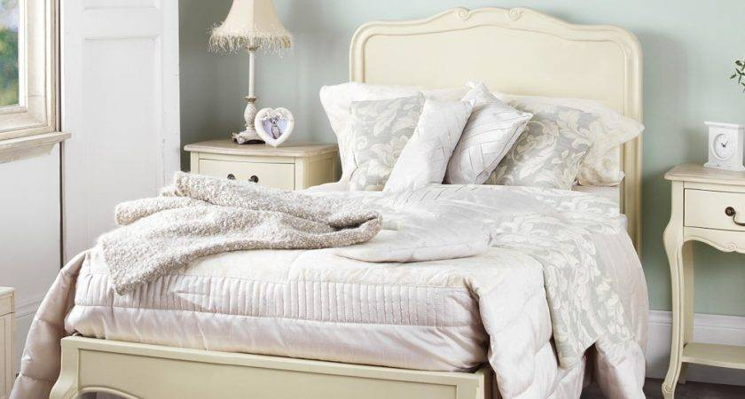 Juliette Shabby Chic Champagne Single Bed Stunning