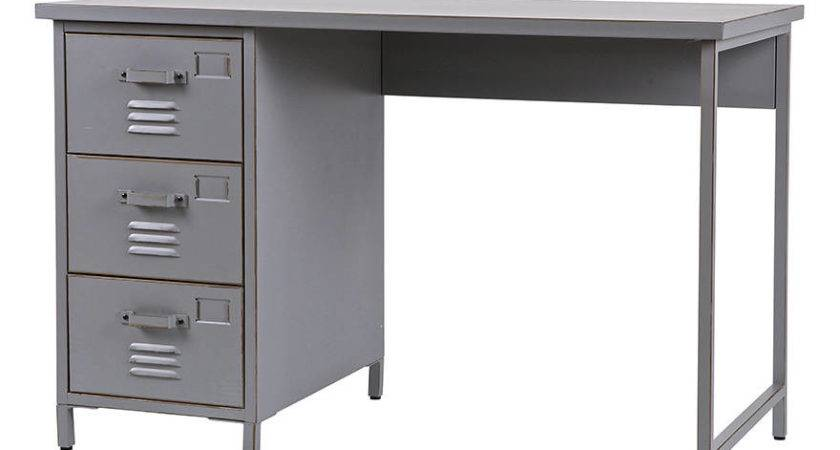 Kids Vintage Style Metal Desk Cuckooland