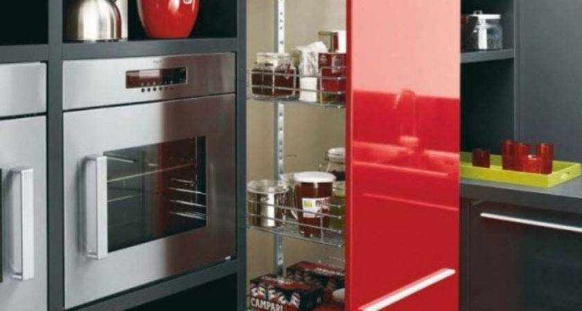 Kitchen Accessories Cool Design Ideas Red