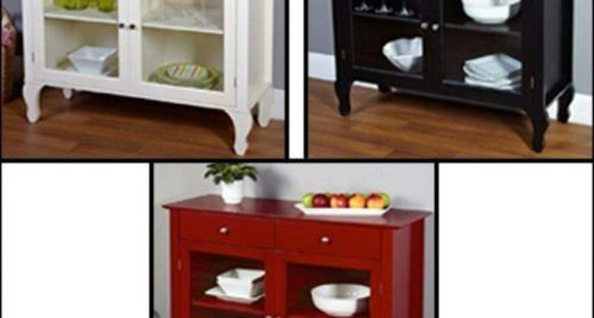 Kitchen Buffet China Cabinet Sideboard Hutch Dining