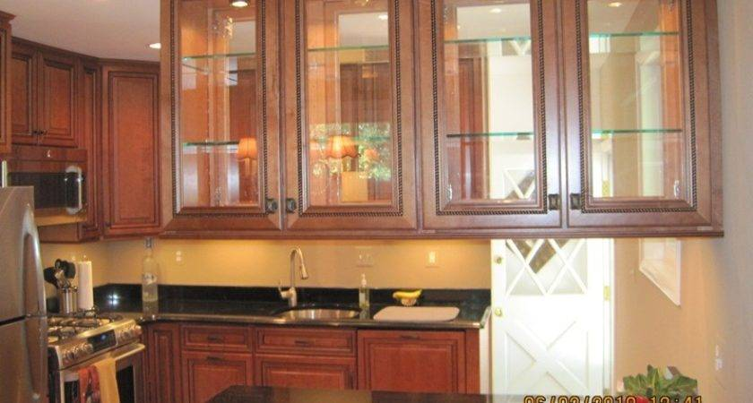 Kitchen Cabinets Glass Doors Marceladick
